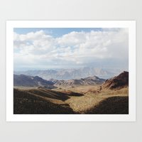 Lake Mead Art Print