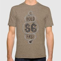 S6 Hold Fast Mens Fitted Tee Tri-Coffee SMALL