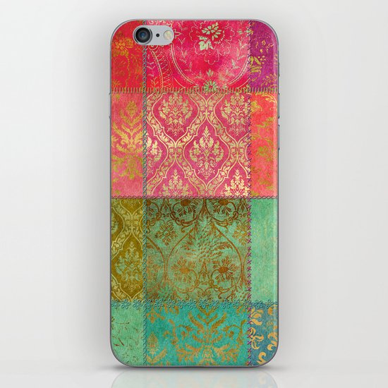 Royal Patchwork iPhone & iPod Skin