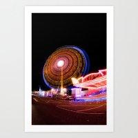 Circuitous & Looming Lar… Art Print