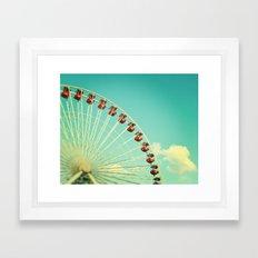 Summer at Navy Pier Framed Art Print