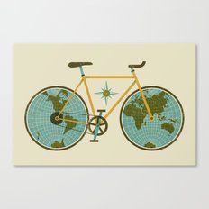 Ride For The World Canvas Print