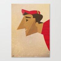 Fausto Canvas Print