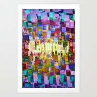 Sorting time as a remainder of balance moments. 03 Art Print