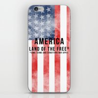 America: Land Of The Fre… iPhone & iPod Skin