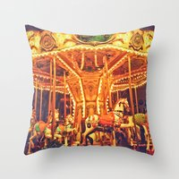 Merry Throw Pillow