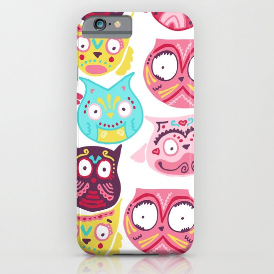 Ornate Owls iPhone & iPod Case