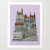 London Rising Art Print