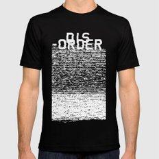 Dis-order (Inverted) Mens Fitted Tee SMALL Black