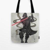 Darth Samurai Tote Bag