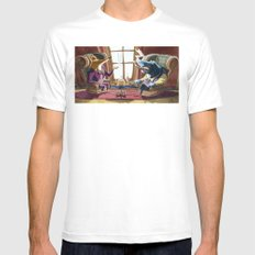 Power´s gathering Mens Fitted Tee SMALL White