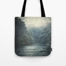 valley and river Tote Bag