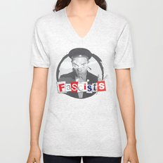 FASCISTS Unisex V-Neck