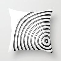 Mercurial Rings Throw Pillow