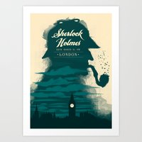 Elementary, My Dear Wats… Art Print
