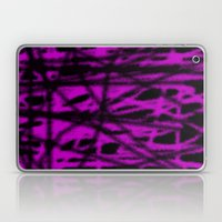 pink and black wire Laptop & iPad Skin