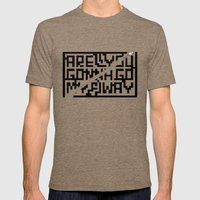 are you gonna go my way Mens Fitted Tee Tri-Coffee SMALL