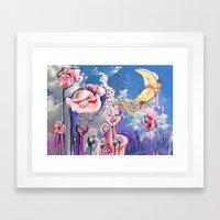 Jesters Journey Framed Art Print
