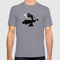 Nosferatu Mens Fitted Tee Slate SMALL