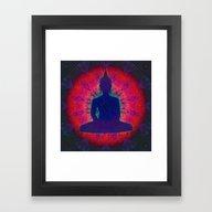 Framed Art Print featuring Buddha 01 by GypsYonic
