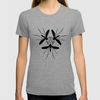 virus Womens Fitted Tee Tri-Grey SMALL