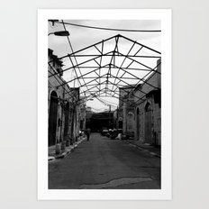 Gated Ceiling Art Print