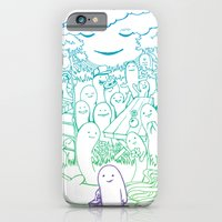 Absent Friends iPhone 6 Slim Case