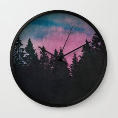 Breathe This Air Wall Clock