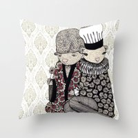 Nezumi Throw Pillow