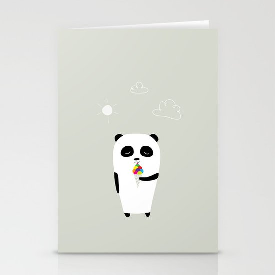 The Happy Ice Cream Stationery Card