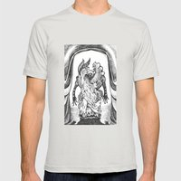 Haunted Clothing- The Small Creatures Mens Fitted Tee Silver SMALL