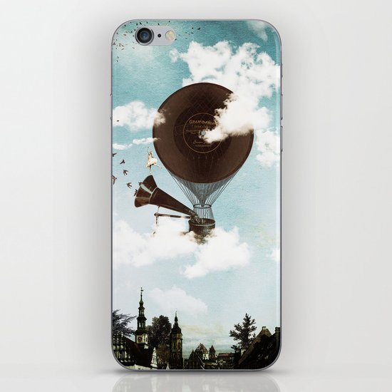 Swan Lake Up in the Air iPhone & iPod Skin