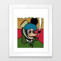 SEVERED EAR.  (Self Port… Framed Art Print
