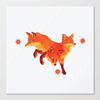 Keep the Fire Canvas Print