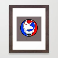 Ted Head  |  Theodore Roosevelt  Fan Art  |  Bull Moose Framed Art Print