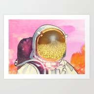 Art Print featuring Unexpected Visitors by KadetKat
