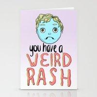 Weird Rash Stationery Cards