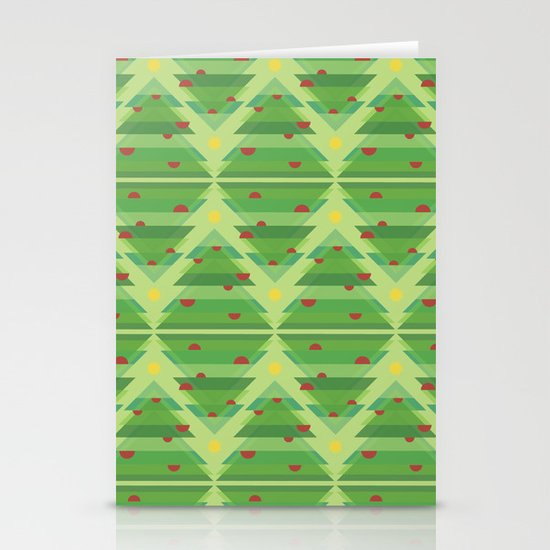 Over the trees Stationery Card