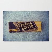 Vintage Corner Cutter Canvas Print
