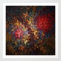 Abstract 60816 Art Print