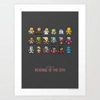 Mega Star Wars: Episode … Art Print