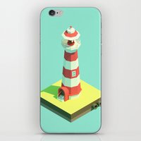 Lighthouse Day iPhone & iPod Skin