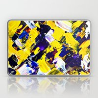 Yellow Intersections Laptop & iPad Skin