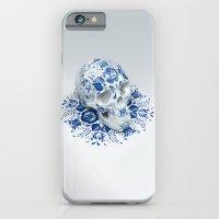 Gzhel Skull iPhone 6 Slim Case
