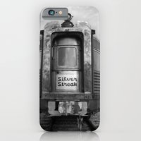 iPhone & iPod Case featuring Silver Streak by a.rose