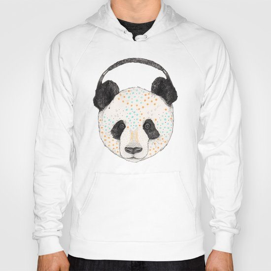 Polkadot Panda Hoody