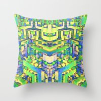 Obscure Art Throw Pillow