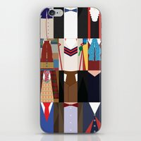 The 12 Doctors iPhone & iPod Skin