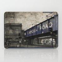 Camden Road Train Station iPad Case