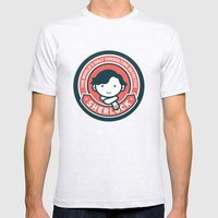 Sherlock - Cute Sherlock Holmes in Red Mens Fitted Tee Ash Grey SMALL